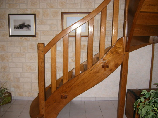 Hetre Bois Exotique : Escalier Chene Massif Neuf Pictures to pin on Pinterest